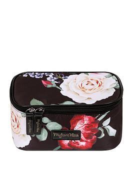 myleene-klass-black-floral-vanity-case