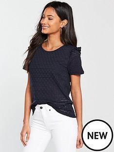 vila-wisty-short-sleeve-t-shirt-black