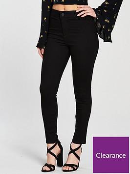 miss-selfridge-petite-steffi-high-waist-jean-blacknbsp