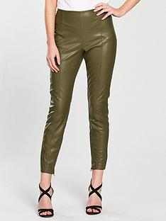 vila-faux-leather-leggings-pale-green