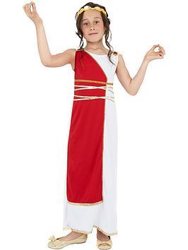 Very Child Roman Grecian Girl Costume Picture