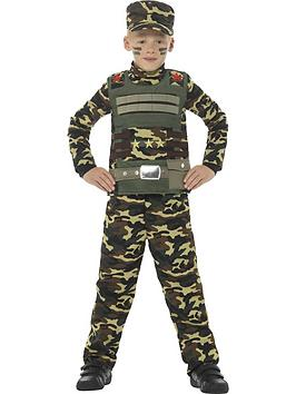 Very Child Military Boy Costume Picture