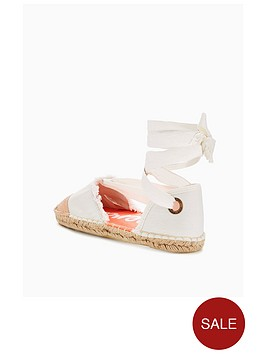 Superdry LOLA LUXE - Espadrilles - offwhite/rose gold en0l5zS