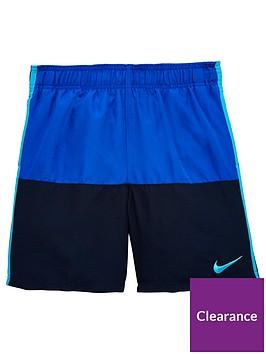 e0b96f6989 Nike Nike Older Boy Swim Split 6 Inch Swim Short