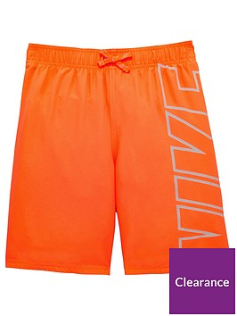 586b17420c Nike Nike Older Boy Logo Swimbreaker 8 Inch Swim Short