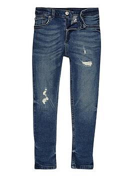 river-island-boys-mid-blue-distressed-sid-skinny-jeans