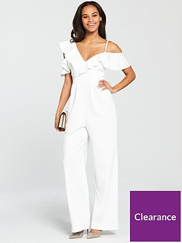 miss-selfridge-scuba-frill-jumpsuit-white
