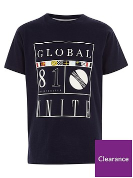 river-island-boys-navy-lsquoglobal-81rsquo-print-t-shirt