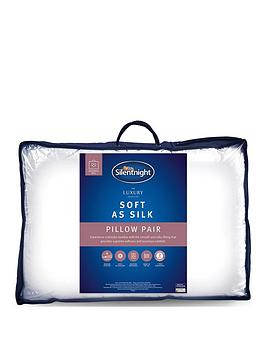 Silentnight Silentnight Luxury Hotel Soft As Silk Pillow Pair Picture