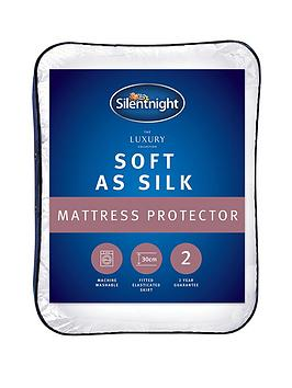 Silentnight Silentnight Luxury Collection Soft As Silk Mattress Protector Picture