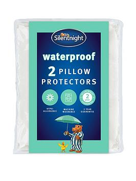 Silentnight Silentnight Pair Of Quilted Waterproof Pillow Protectors Picture