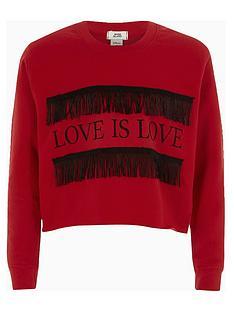 river-island-girls-red-lsquolove-is-loversquo-fringe-sweatshirt
