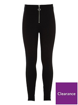 river-island-girls-black-front-zip-ponte-leggings