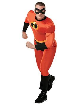 Disney The Incredibles   The Incredibles Adult Deluxe Costume