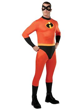 Disney The Incredibles   The Incredibles Adult Jumpsuit