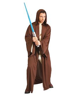 Star Wars Star Wars Hooded Jedi Robe &Ndash; Adults Costume Picture