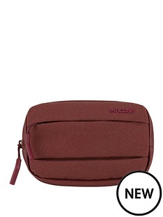 incase-city-accessory-pouch-deep-red