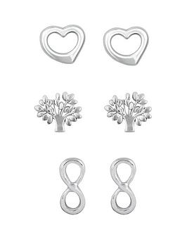 The Love Silver Collection The Love Silver Collection Sterling Silver Open  ... Picture
