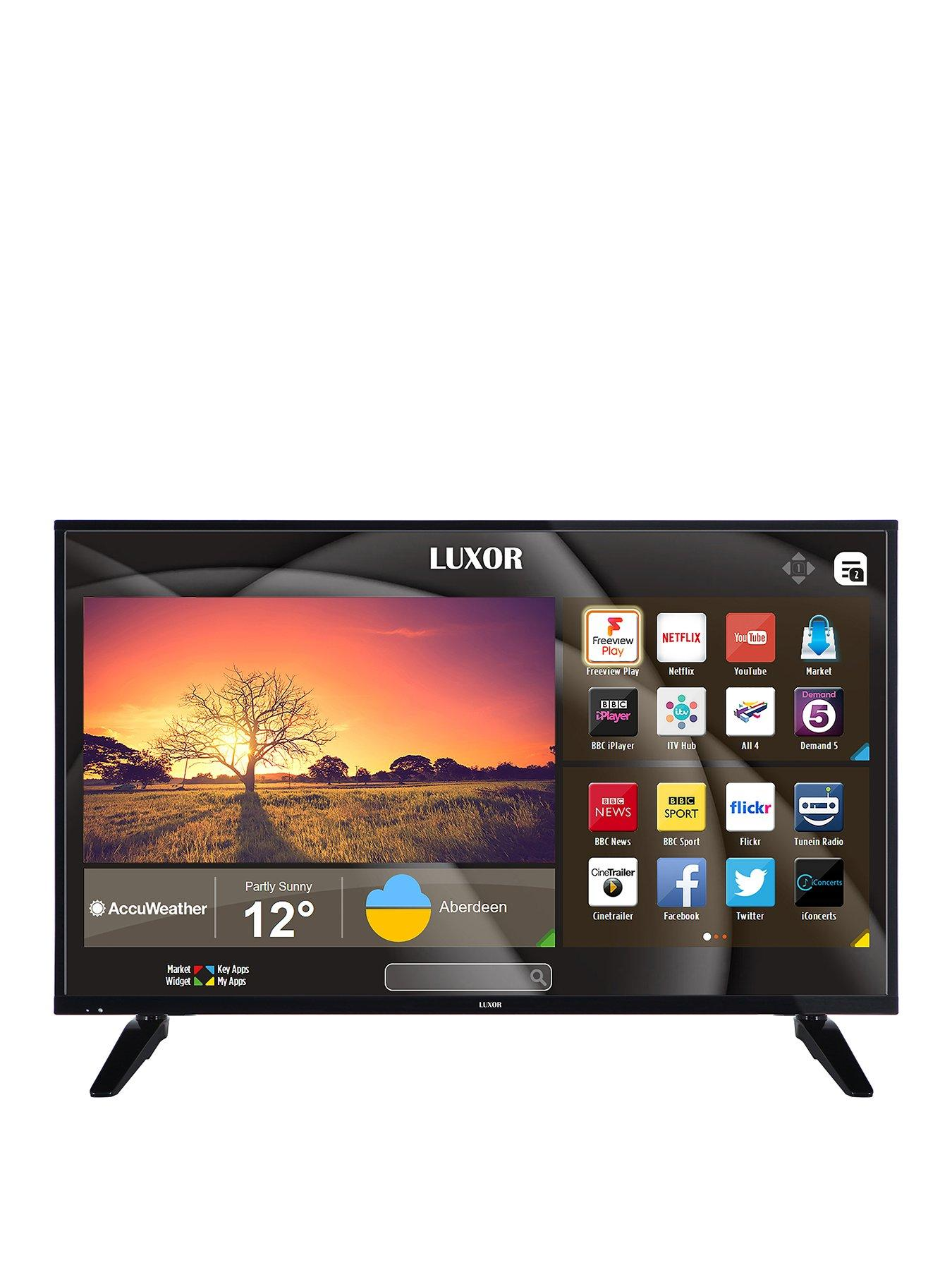Compare prices for Luxor 43 Inch Full HD Freeview Smart TV