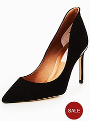 25d0a551bc2e6 Ted Baker Savio 2 High Back Court Shoe - Black