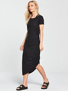 noisy-may-abia-ola-short-sleeve-maxi-dress-black