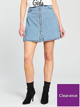 noisy-may-sunny-short-skater-skirt-light-blue-denim