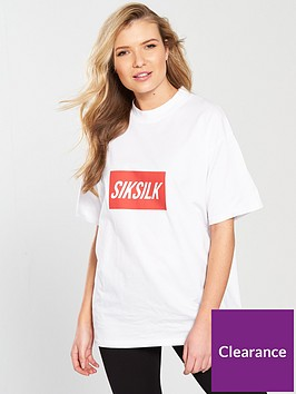 sik-silk-siksilk-box-print-retro-tee
