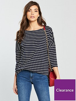 vero-moda-ula-34-sleeve-top-stripe-print