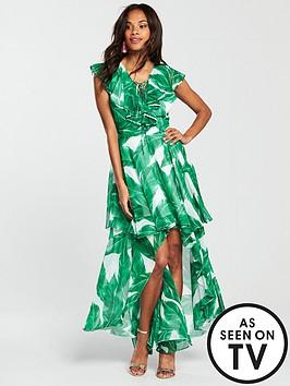 v-by-very-printed-frill-maxi-dress-palm-print