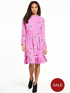 vero-moda-elena-long-sleeve-tiered-printed-tea-dress-mauve