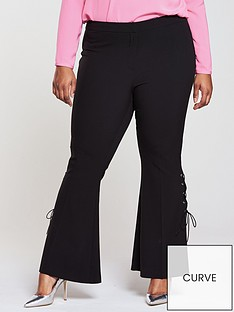 v-by-very-curve-eyelet-kickflare-trouser