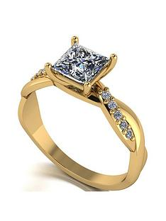 moissanite-moissanite-9ct-gold-115ct-eq-total-square-brilliant-solitaire-ring