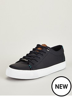 99987c542 Baker by Ted Baker Boys Navy Lace Up Trainer
