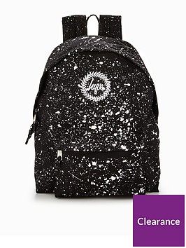 Hype Hype Black   White Speckle Classic Backpack  6cd3ae92e3492