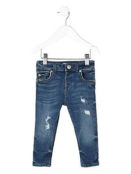 river-island-mini-mini-boys-distressed-sid-skinny-jeans-blue