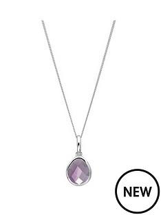 the-love-silver-collection-sterling-silver-amethyst-semi-precious-february-birthstone-pendant