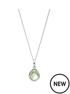 the-love-silver-collection-sterling-silver-organic-oval-green-amethyst-semi-precious-august-birthstone-pendant