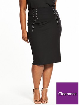 v-by-very-curve-eyelet-detail-pencil-skirt