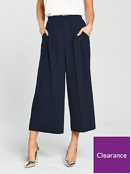 miss-selfridge-cropped-palazzo-pants-navynbsp
