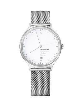 Mondaine Mondaine Mondaine/Helvetica No1 Light Ladies Watch 38Mm With Date  ... Picture