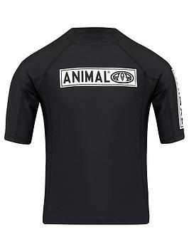 animal-boys-black-short-sleeve-rash-vest