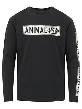 animal-boys-black-long-sleeve-tee