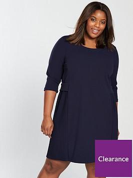 junarose-junarose-curve-kille-34-sleeve-shift-dress