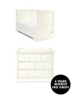 mamas-papas-mamas-amp-papas-oxford-cot-bed-amp-dresser-changer--white