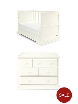 mamas-papas-mamas-papas-oxford-cot-bed-dresser-changer--white
