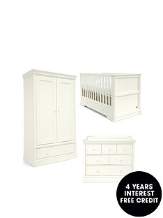 mamas-papas-mamas-amp-papas-oxford-cotbed-dresser-amp-wardorbe--white