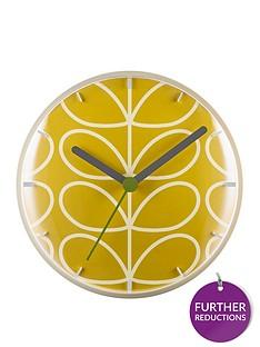 orla-kiely-linear-stem-dandelion-wall-clock