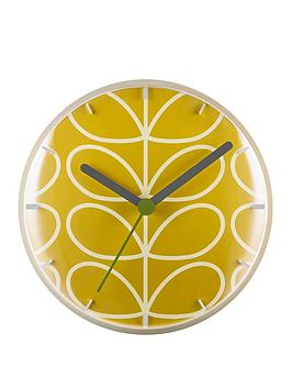 orla-kiely-linear-stem-dandelion-wall-clock