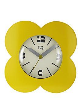 Orla Kiely Spot Flower Dandelion Alarm Clock