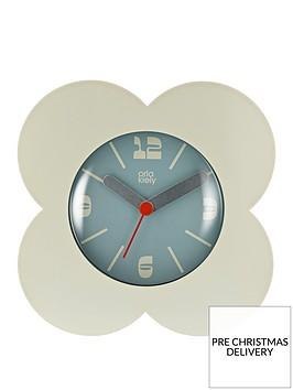 orla-kiely-spot-flower-cream-alarm-clock